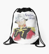 『GUNDAM』Char Aznable Drawstring Bag