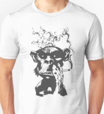 smoking monkeys - Smoke T-Shirt
