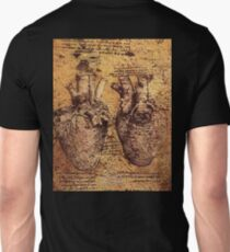 HEART, Leonardo da Vinci, Heart And Its Blood Vessels T-Shirt