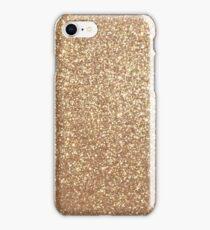 Copper Rose Gold Metallic Glitter iPhone Case/Skin