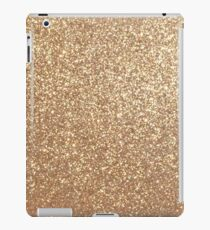 Copper Rose Gold Metallic Glitter iPad Case/Skin