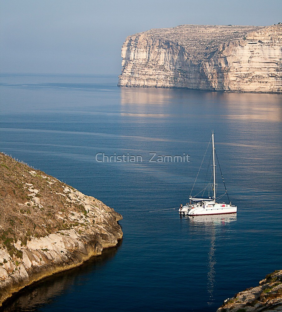 Xlendi Coast by Christian  Zammit