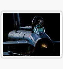 Lightning XR728 in the shadows Sticker