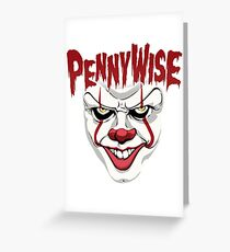 Misfit Clown Greeting Card