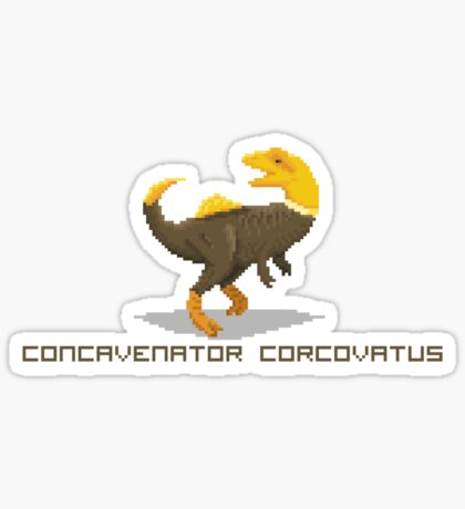 Pixel Concavenator Sticker