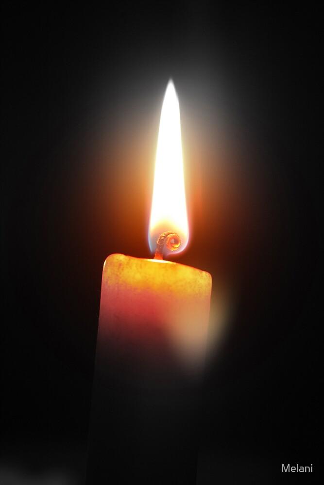 Candle light by Melani