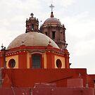 A Church Top In Queretaro by FoodMaster
