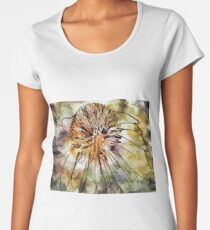 Abstract Floral 03 Women's Premium T-Shirt