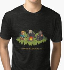 World Explorers Tri-blend T-Shirt
