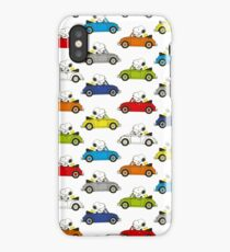 SNOOPY CARS iPhone Case/Skin