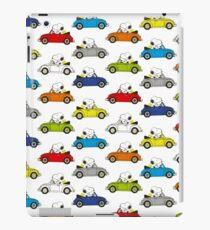 SNOOPY CARS iPad Case/Skin