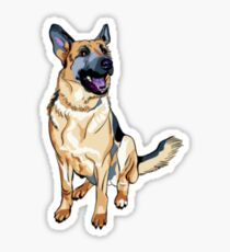 German Shepard! Sticker