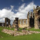 Whitby Abbey, Whitby, Yorkshire by Bev Pascoe