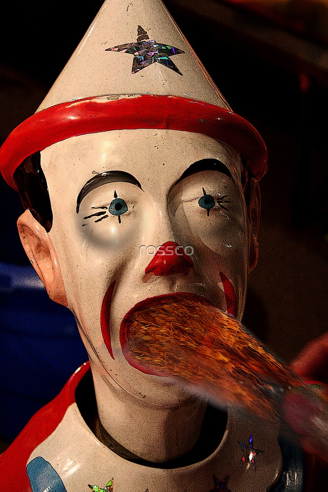 The Evil Sideshow Clown by rossco