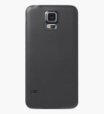 Simulated Black and Grey Carbon Fiber Case/Skin for Samsung Galaxy