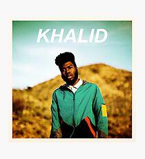 Khalid Photographic Print