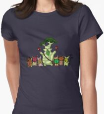 Hestu and the koroks! Women's Fitted T-Shirt