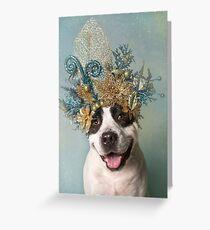 Flower Power, Dodger Grußkarte