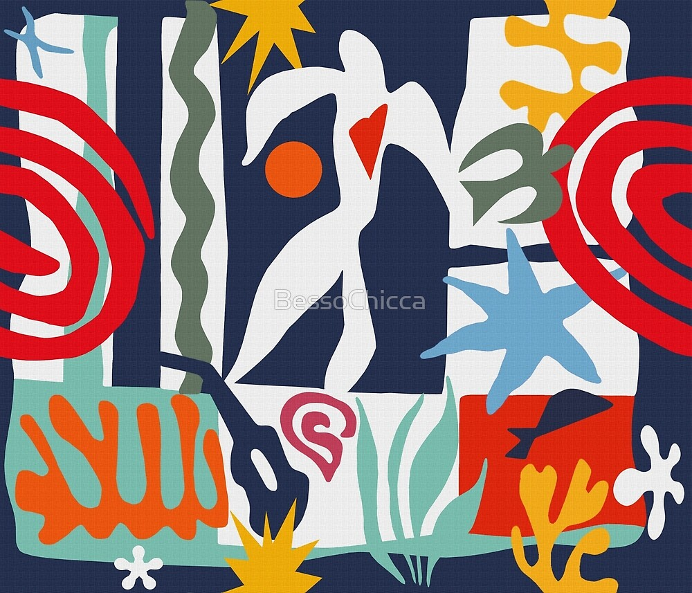 Inspired by Matisse by BessoChicca