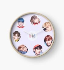 BTS Love Yourself Her Sticker Set (V version) Clock