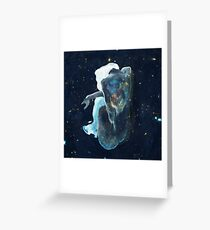 Sitting by the Stars Greeting Card