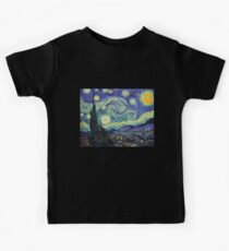 Starry Night by Vincent Van Gogh Kids Clothes