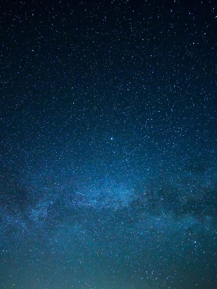 Starry Night Sky, Milky Way by cadinera