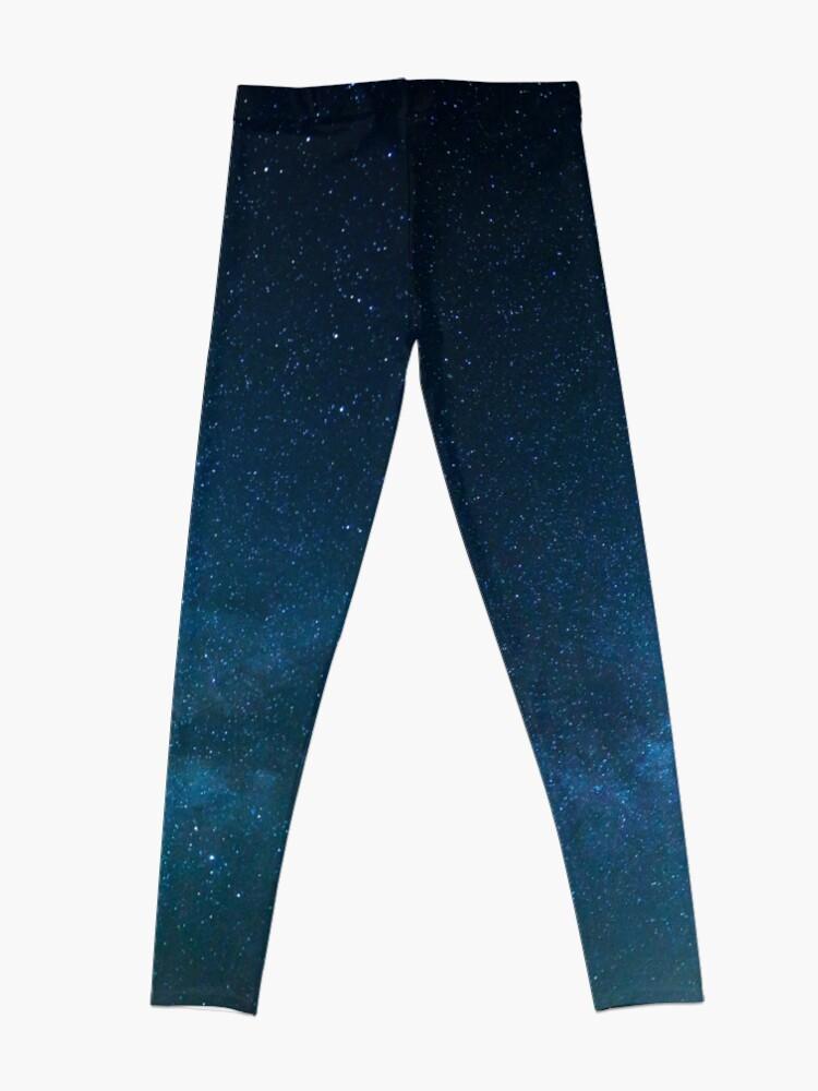 Alternate view of Starry Night Sky, Milky Way Leggings