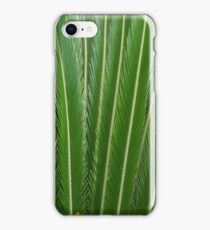 Long Green Leaves iPhone Case/Skin
