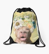 Flower Power, Princess Drawstring Bag