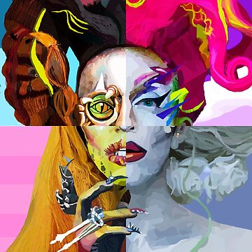 Acid Betty Artwork Rupaul's Drag Race  by beccacook1