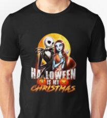 Halloween Is My Christmas: Jack & Sally T-Shirt