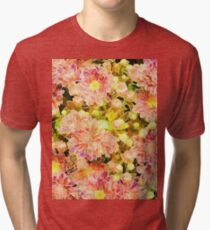 Abstract Floral 07 Tri-blend T-Shirt