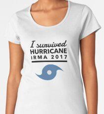 Hurricane Irma Survivor 2017 Women's Premium T-Shirt