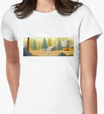 Autumn Women's Fitted T-Shirt