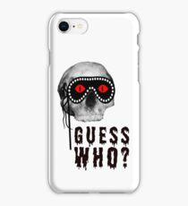 Skull - Guess Who? iPhone Case/Skin