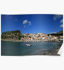 Parga Castle and Town Poster
