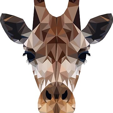 Giraffe Gift Idea for Animal Lovers by Tractorjaws