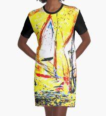 Indian Summer Jahreszeit Herbst Graphic T-Shirt Dress