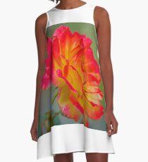 Pretty Petals A-Line Dress