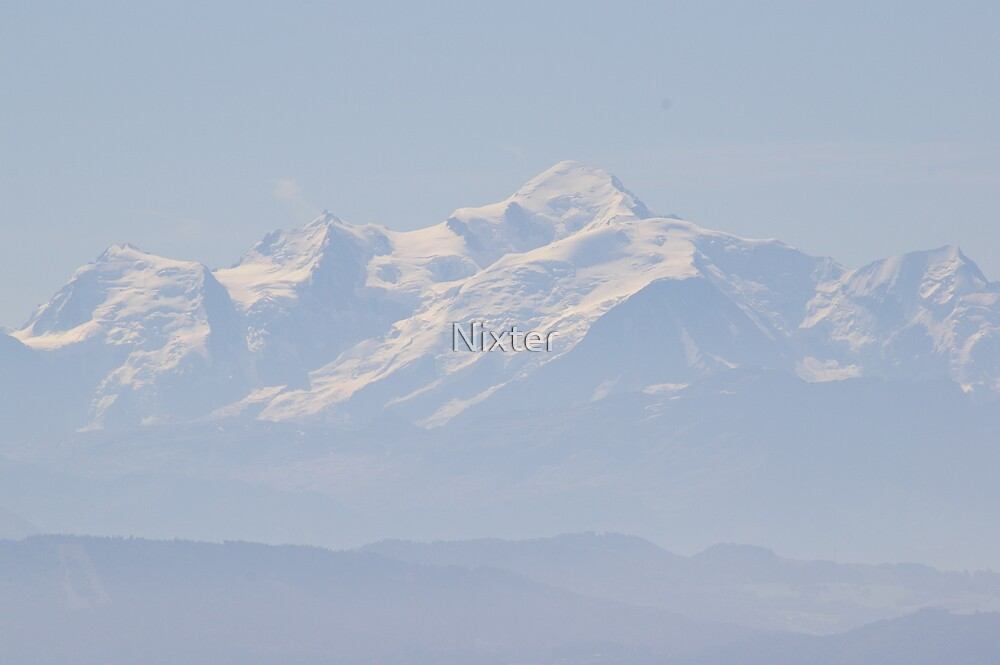 Mont Blanc by Nixter