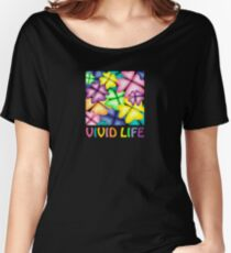 vivid life Women's Relaxed Fit T-Shirt