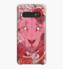 Lion of Roses Case/Skin for Samsung Galaxy