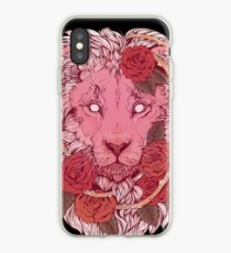 Lion of Roses iPhone Case