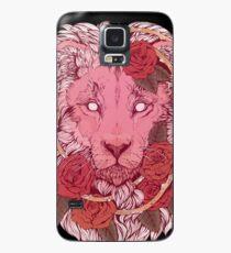 Funda/vinilo para Samsung Galaxy León de rosas