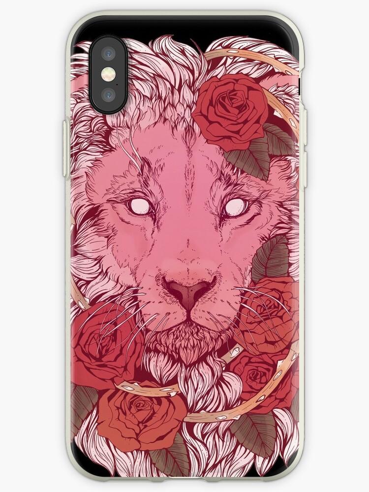 «León de rosas» de Kellie Lamphere