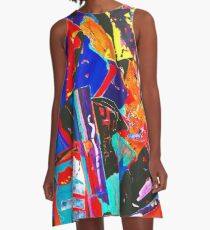 New Metropolis urban colours A-Linien Kleid