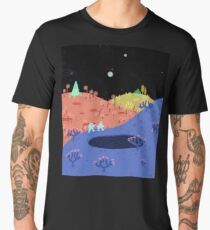 Moon Walk Men's Premium T-Shirt