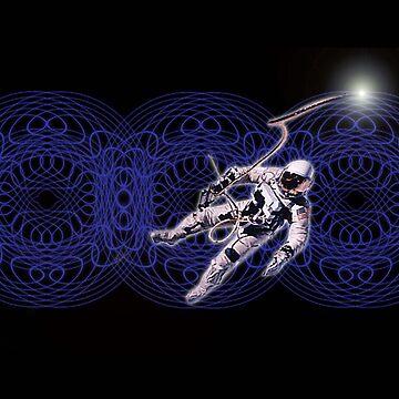 Spacewalker by arteology