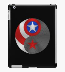 Winter Cap Yin Yang iPad Case/Skin